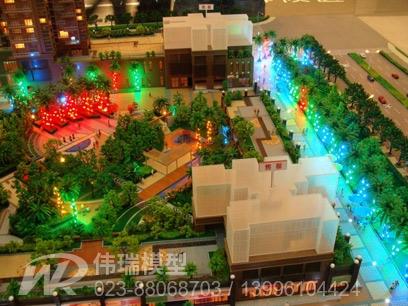 重庆景观模型