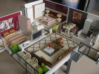 室内户型模型