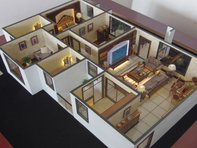 楼盘户型模型